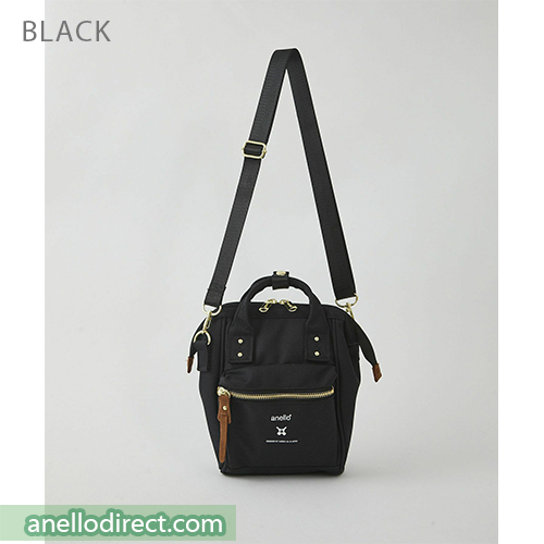 Anello RE-MODEL Polyester Canvas Mini Shoulder Bag ASO-S001 Black Japan Original Official Authentic Real Genuine Bag Free Shipping Worldwide Special Discount Low Prices Great Offer