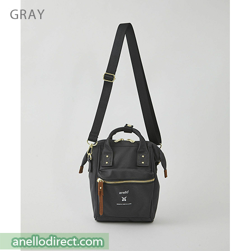 Anello RE-MODEL Polyester Canvas Mini Shoulder Bag ASO-S001 Gray Japan Original Official Authentic Real Genuine Bag Free Shipping Worldwide Special Discount Low Prices Great Offer