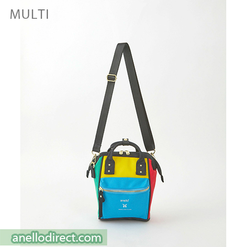 Anello RE-MODEL Polyester Canvas Mini Shoulder Bag ASO-S001 Multi Japan Original Official Authentic Real Genuine Bag Free Shipping Worldwide Special Discount Low Prices Great Offer