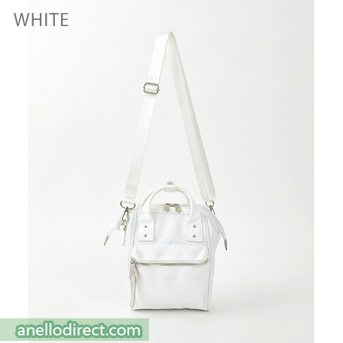 Anello RE-MODEL Polyester Canvas Mini Shoulder Bag ASO-S001 White Japan Original Official Authentic Real Genuine Bag Free Shipping Worldwide Special Discount Low Prices Great Offer