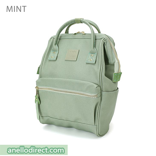 Anello PU Leather Backpack Rucksack Mini Size AT-B1212 Mint Japan Original Official Authentic Real Genuine Bag Free Shipping Worldwide Special Discount Low Prices Great Offer