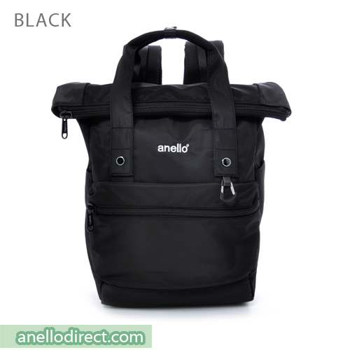Anello Urban Street High Density Nylon Backpack Rucksack AT-B1681 Black Japan Original Official Authentic Real Genuine Bag Free Shipping Worldwide Special Discount Low Prices Great Offer