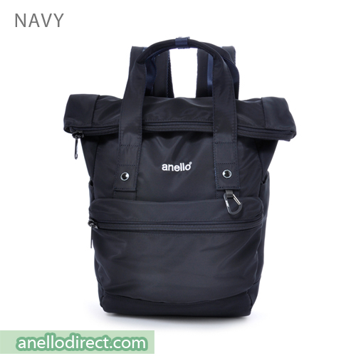 Anello Urban Street High Density Nylon Backpack Rucksack AT-B1681 Navy Japan Original Official Authentic Real Genuine Bag Free Shipping Worldwide Special Discount Low Prices Great Offer