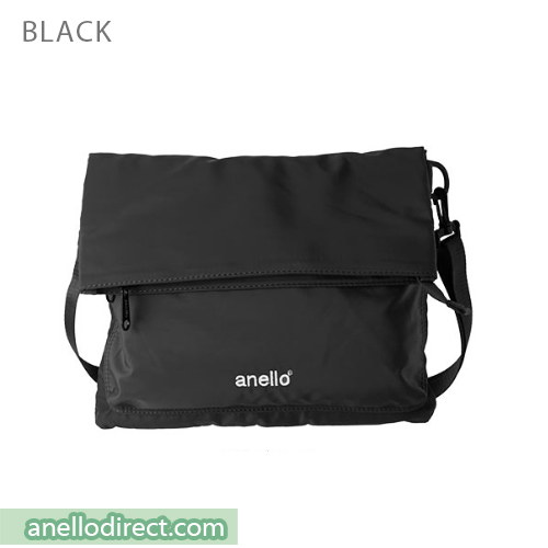 Anello URBAN STREET Nylon 2 Way Shoulder Bag AT-B1683 Black Japan Original Official Authentic Real Genuine Bag Free Shipping Worldwide Special Discount Low Prices Great Offer