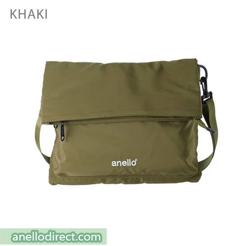 Anello URBAN STREET Nylon 2 Way Shoulder Bag AT-B1683 Khaki Japan Original Official Authentic Real Genuine Bag Free Shipping Worldwide Special Discount Low Prices Great Offer