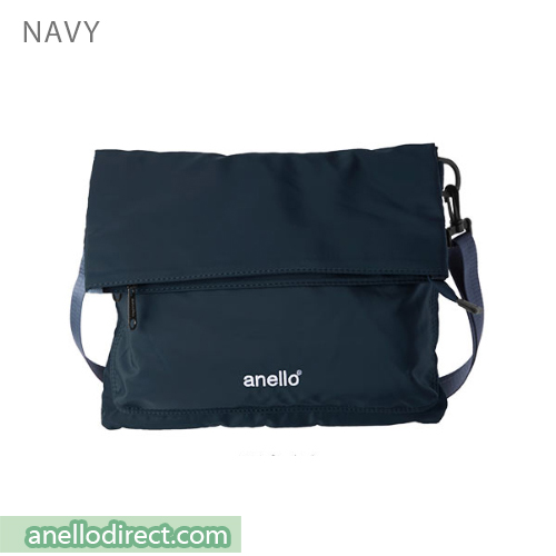 Anello URBAN STREET Nylon 2 Way Shoulder Bag AT-B1683 Navy Japan Original Official Authentic Real Genuine Bag Free Shipping Worldwide Special Discount Low Prices Great Offer