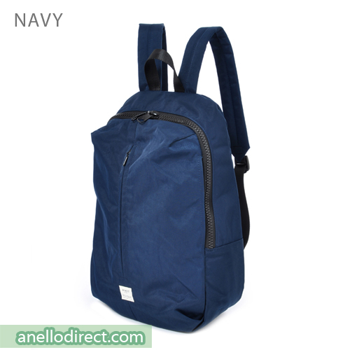 Anello Splash 3D Design Laptop Polyester Backpack Rucksack AT-B2024 Navy Japan Original Official Authentic Real Genuine Bag Free Shipping Worldwide Special Discount Low Prices Great Offer