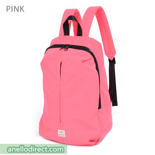 Anello Splash 3D Design Laptop Polyester Backpack Rucksack AT-B2024 Pink Japan Original Official Authentic Real Genuine Bag Free Shipping Worldwide Special Discount Low Prices Great Offer