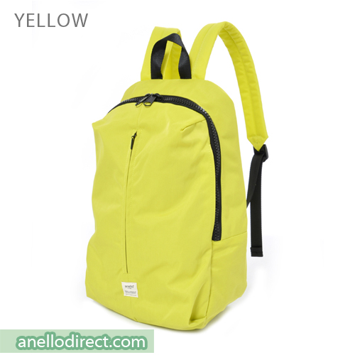 Anello Splash 3D Design Laptop Polyester Backpack Rucksack AT-B2024 Yellow Japan Original Official Authentic Real Genuine Bag Free Shipping Worldwide Special Discount Low Prices Great Offer