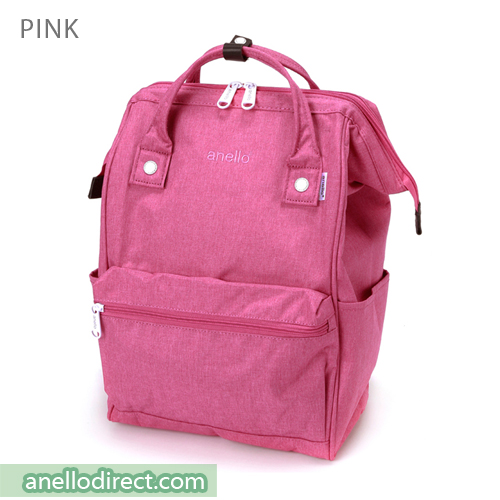 Anello Mottled Polyester  Classic Backpack Regular Size AT-B2261 Pink Japan Original Official Authentic Real Genuine Bag Free Shipping Worldwide Special Discount Low Prices Great Offer