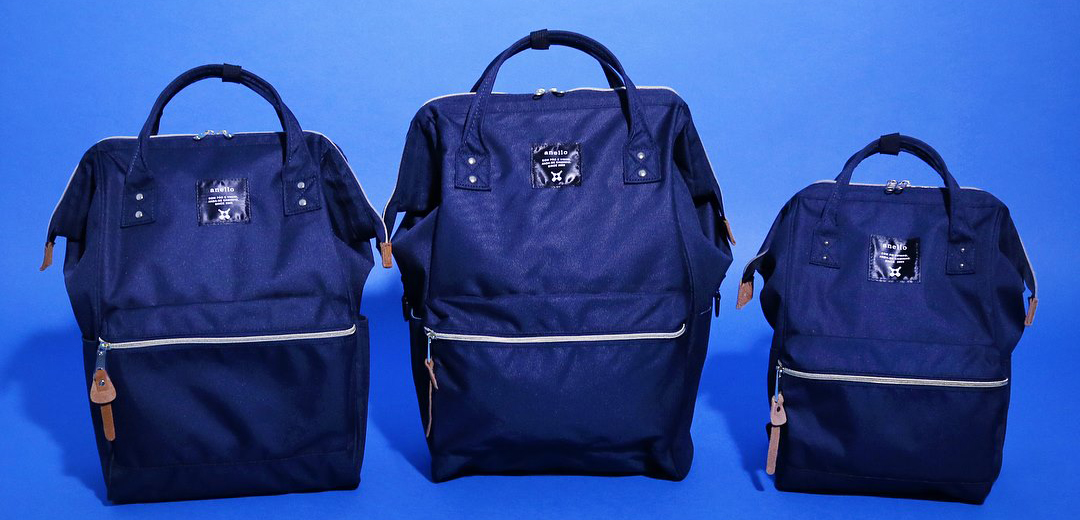 Anello Polyester Canvas Backpack Rucksack Large Size AT-B2521