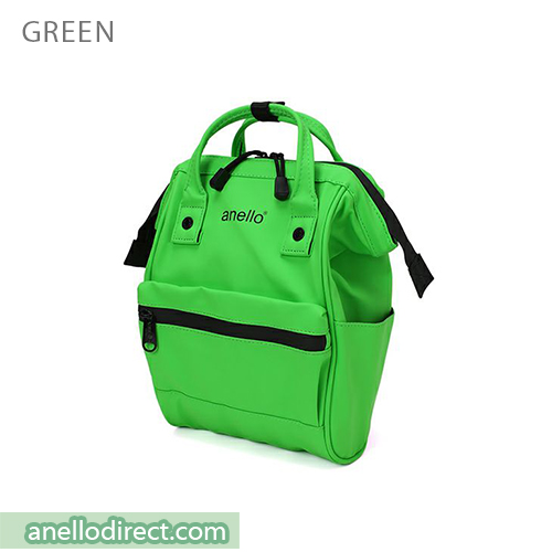 Anello Matt Rubber Base Waterproof Backpack Rucksack Mini Size AT-B2812 Green Japan Original Official Authentic Real Genuine Bag Free Shipping Worldwide Special Discount Low Prices Great Offer