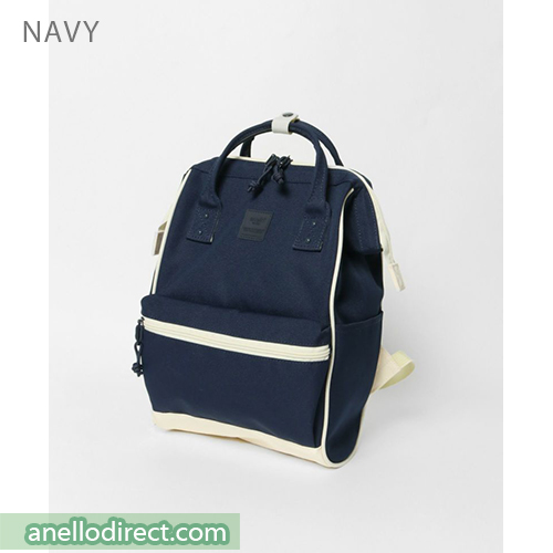 Anello N/C Polyester Classic Backpack Rucksack Mini Size AT-B3092 Navy Japan Original Official Authentic Real Genuine Bag Free Shipping Worldwide Special Discount Low Prices Great Offer