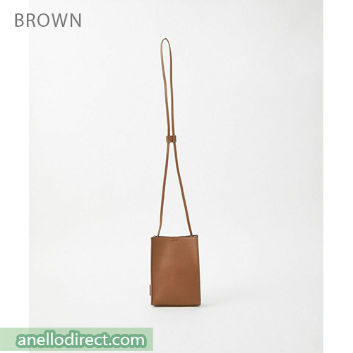 Anello ALTON PVC Mini Shoulder Bag AT-B3642 Brown Japan Original Official Authentic Real Genuine Bag Free Shipping Worldwide Special Discount Low Prices Great Offer