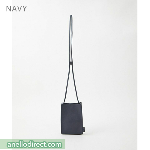 Anello ALTON PVC Mini Shoulder Bag AT-B3642 Navy Japan Original Official Authentic Real Genuine Bag Free Shipping Worldwide Special Discount Low Prices Great Offer