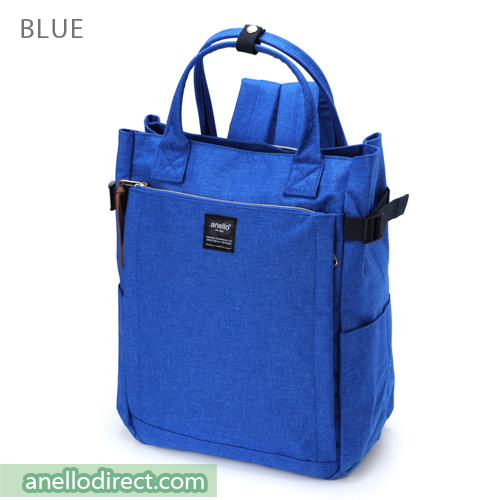 Anello Polyester 10 Pocket  2 Way Tote Backpack Rucksack AT-C1225 Blue Japan Original Official Authentic Real Genuine Bag Free Shipping Worldwide Special Discount Low Prices Great Offer