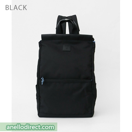 Anello Block Tote Polyester Backpack Rucksack AT-C2821 Black Japan Original Official Authentic Real Genuine Bag Free Shipping Worldwide Special Discount Low Prices Great Offer