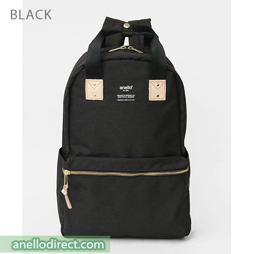 Anello ATELIER Handle Polyester Backpack Rucksack AT-C3161 Black Japan Original Official Authentic Real Genuine Bag Free Shipping Worldwide Special Discount Low Prices Great Offer