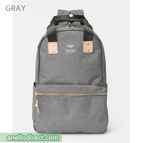 Anello ATELIER Handle Polyester Backpack Rucksack AT-C3161 Gray Japan Original Official Authentic Real Genuine Bag Free Shipping Worldwide Special Discount Low Prices Great Offer