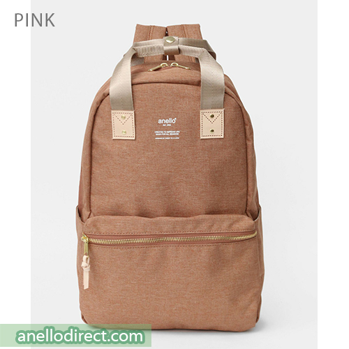Anello ATELIER Handle Polyester Backpack Rucksack AT-C3161 Pink Japan Original Official Authentic Real Genuine Bag Free Shipping Worldwide Special Discount Low Prices Great Offer