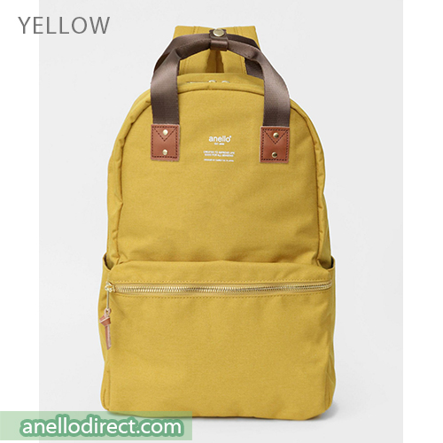 Anello ATELIER Handle Polyester Backpack Rucksack AT-C3161 Yellow Japan Original Official Authentic Real Genuine Bag Free Shipping Worldwide Special Discount Low Prices Great Offer