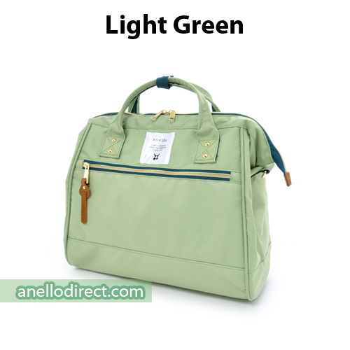 Anello Polyester Canvas 2 Way Shoulder Bag Regular Size AT-H0852 Light Green Japan Original Official Authentic Real Genuine Bag Free Shipping Worldwide Special Discount Low Prices Great Offer