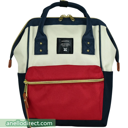 Anello Polyester Canvas Backpack Rucksack For Kids AT-H0853 Mix-F Japan Original Official Authentic Real Genuine Bag Free Shipping Worldwide Special Discount Low Prices Great Offer