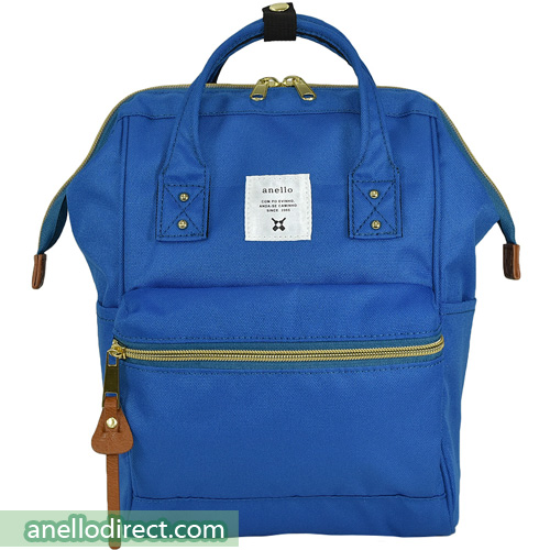 Anello Polyester Canvas Backpack Rucksack For Kids AT-H0853 Royal Blue Japan Original Official Authentic Real Genuine Bag Free Shipping Worldwide Special Discount Low Prices Great Offer