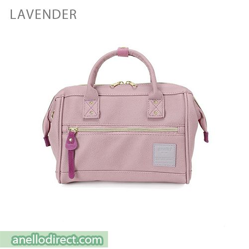Anello PU Leather 2 Way Shoulder Bag Mini Size AT-H1021 Lavender Japan Original Official Authentic Real Genuine Bag Free Shipping Worldwide Special Discount Low Prices Great Offer