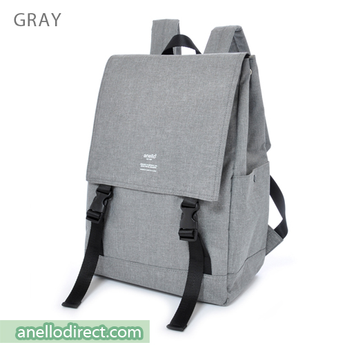 Anello Flapper Flap Polyester Backpack Rucksack AT-H1151 Gray Japan Original Official Authentic Real Genuine Bag Free Shipping Worldwide Special Discount Low Prices Great Offer