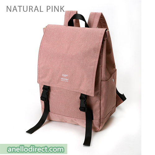 Anello Flapper Flap Polyester Backpack Rucksack AT-H1151 Natural Pink Japan Original Official Authentic Real Genuine Bag Free Shipping Worldwide Special Discount Low Prices Great Offer