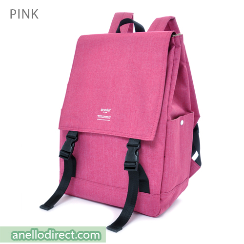 Anello Flapper Flap Polyester Backpack Rucksack AT-H1151 Pink Japan Original Official Authentic Real Genuine Bag Free Shipping Worldwide Special Discount Low Prices Great Offer