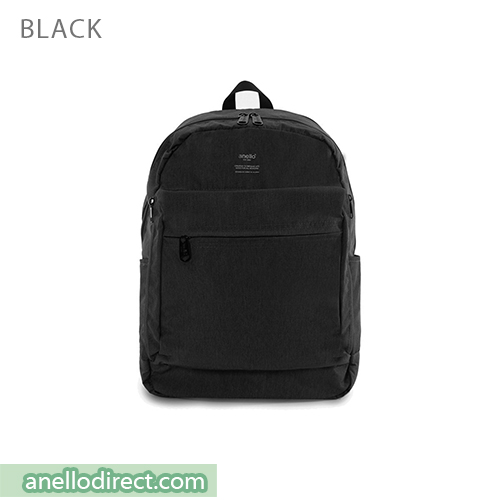 Anello Ripstop Polyester 10 Pocket Backpack Rucksack AT-H1811 Black Japan Original Official Authentic Real Genuine Bag Free Shipping Worldwide Special Discount Low Prices Great Offer