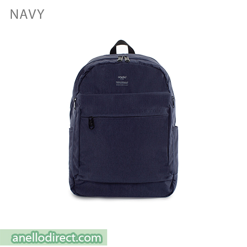 Anello Ripstop Polyester 10 Pocket Backpack Rucksack AT-H1811 Navy Japan Original Official Authentic Real Genuine Bag Free Shipping Worldwide Special Discount Low Prices Great Offer