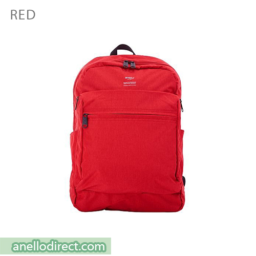 Anello Ripstop Polyester 10 Pocket Backpack Rucksack AT-H1811 Red Japan Original Official Authentic Real Genuine Bag Free Shipping Worldwide Special Discount Low Prices Great Offer