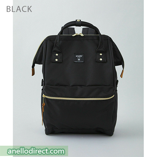 Anello REPREVE Upgraded Canvas Backpack Regular Size ATB0193R Black Japan Original Official Authentic Real Genuine Bag Free Shipping Worldwide Special Discount Low Prices Great Offer