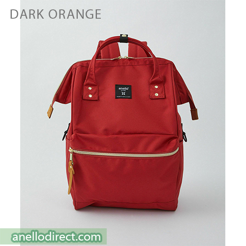 Anello REPREVE Upgraded Canvas Backpack Regular Size ATB0193R Dark Orange Japan Original Official Authentic Real Genuine Bag Free Shipping Worldwide Special Discount Low Prices Great Offer