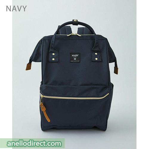 Anello REPREVE Upgraded Canvas Backpack Regular Size ATB0193R Navy Japan Original Official Authentic Real Genuine Bag Free Shipping Worldwide Special Discount Low Prices Great Offer
