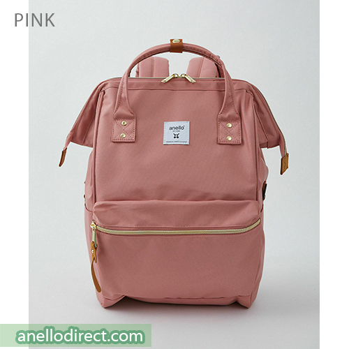 Anello REPREVE Upgraded Canvas Backpack Regular Size ATB0193R Pink Japan Original Official Authentic Real Genuine Bag Free Shipping Worldwide Special Discount Low Prices Great Offer