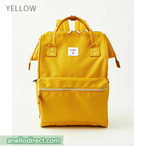Anello REPREVE Upgraded Canvas Backpack Regular Size ATB0193R Yellow Japan Original Official Authentic Real Genuine Bag Free Shipping Worldwide Special Discount Low Prices Great Offer
