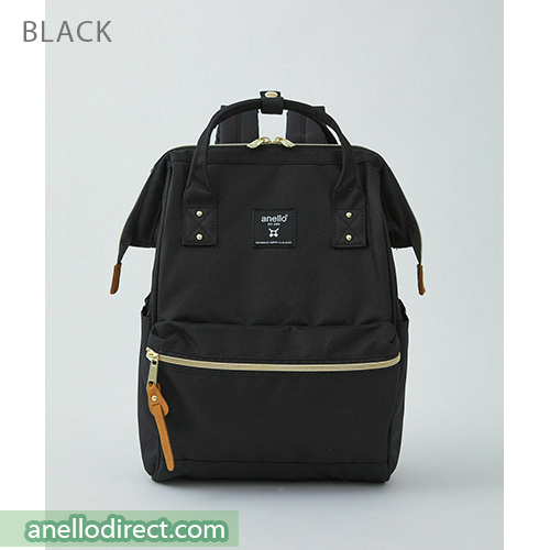 Anello REPREVE Upgraded Canvas Backpack Mini Size ATB0197R Black Japan Original Official Authentic Real Genuine Bag Free Shipping Worldwide Special Discount Low Prices Great Offer
