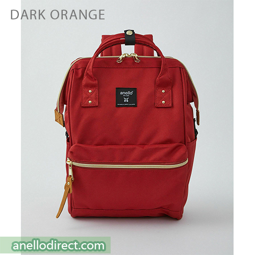 Anello REPREVE Upgraded Canvas Backpack Mini Size ATB0197R Dark Orange Japan Original Official Authentic Real Genuine Bag Free Shipping Worldwide Special Discount Low Prices Great Offer