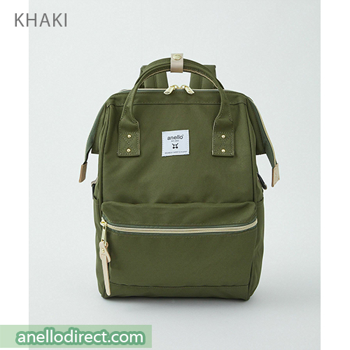 Anello REPREVE Upgraded Canvas Backpack Mini Size ATB0197R Khaki Japan Original Official Authentic Real Genuine Bag Free Shipping Worldwide Special Discount Low Prices Great Offer