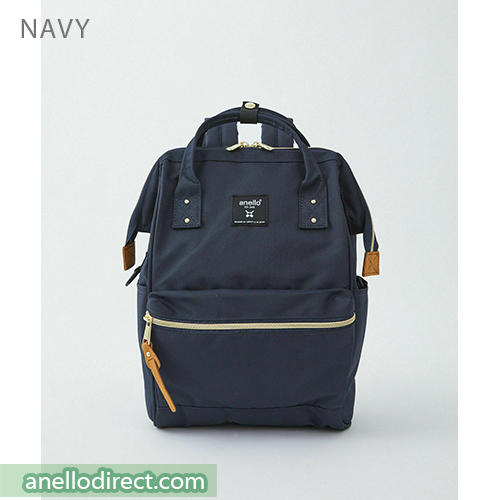 Anello REPREVE Upgraded Canvas Backpack Mini Size ATB0197R Navy Japan Original Official Authentic Real Genuine Bag Free Shipping Worldwide Special Discount Low Prices Great Offer