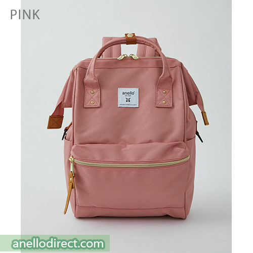 Anello REPREVE Upgraded Canvas Backpack Mini Size ATB0197R Pink Japan Original Official Authentic Real Genuine Bag Free Shipping Worldwide Special Discount Low Prices Great Offer