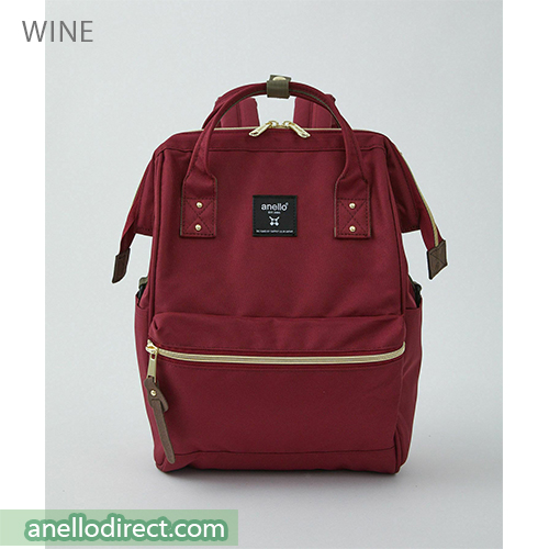 Anello REPREVE Upgraded Canvas Backpack Mini Size ATB0197R Red Wine Japan Original Official Authentic Real Genuine Bag Free Shipping Worldwide Special Discount Low Prices Great Offer