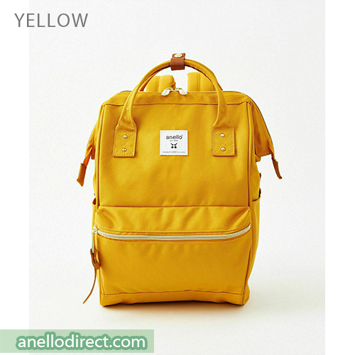 Anello REPREVE Upgraded Canvas Backpack Mini Size ATB0197R Yellow Japan Original Official Authentic Real Genuine Bag Free Shipping Worldwide Special Discount Low Prices Great Offer