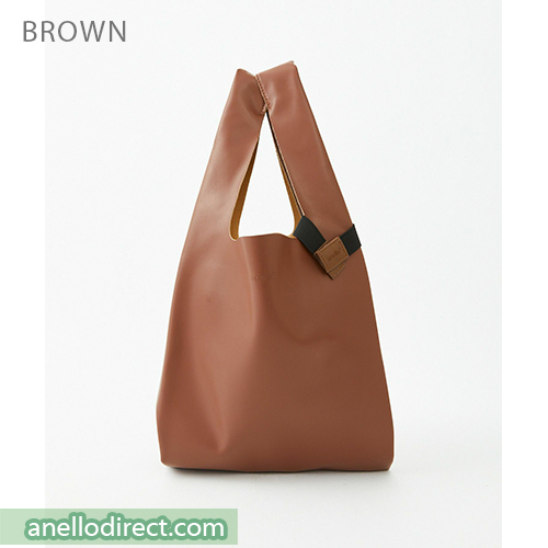 Anello ALTON PU Leather Tote Bag ATB3647 Brown Japan Original Official Authentic Real Genuine Bag Free Shipping Worldwide Special Discount Low Prices Great Offer