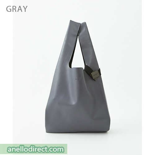 Anello ALTON PU Leather Tote Bag ATB3647 Gray Japan Original Official Authentic Real Genuine Bag Free Shipping Worldwide Special Discount Low Prices Great Offer