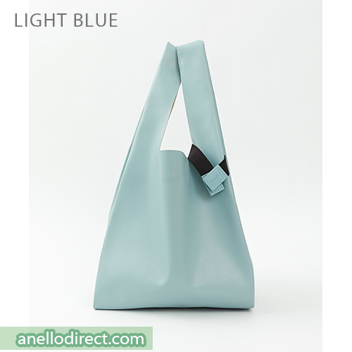 Anello ALTON PU Leather Tote Bag ATB3647 Blue Japan Original Official Authentic Real Genuine Bag Free Shipping Worldwide Special Discount Low Prices Great Offer